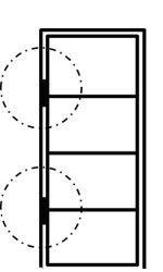Stalen-deur-met-glas-bevestiging-scharnierdeur