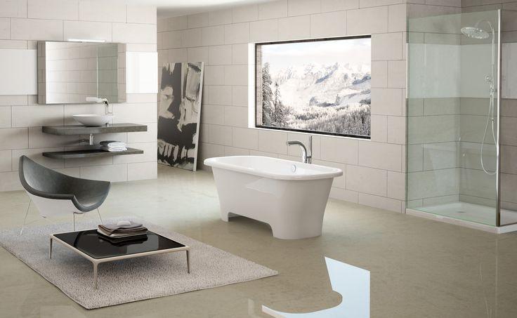 a beautiful open plan bathroom #bathroombizarre #bathroom #inspiration #style #modern #classic