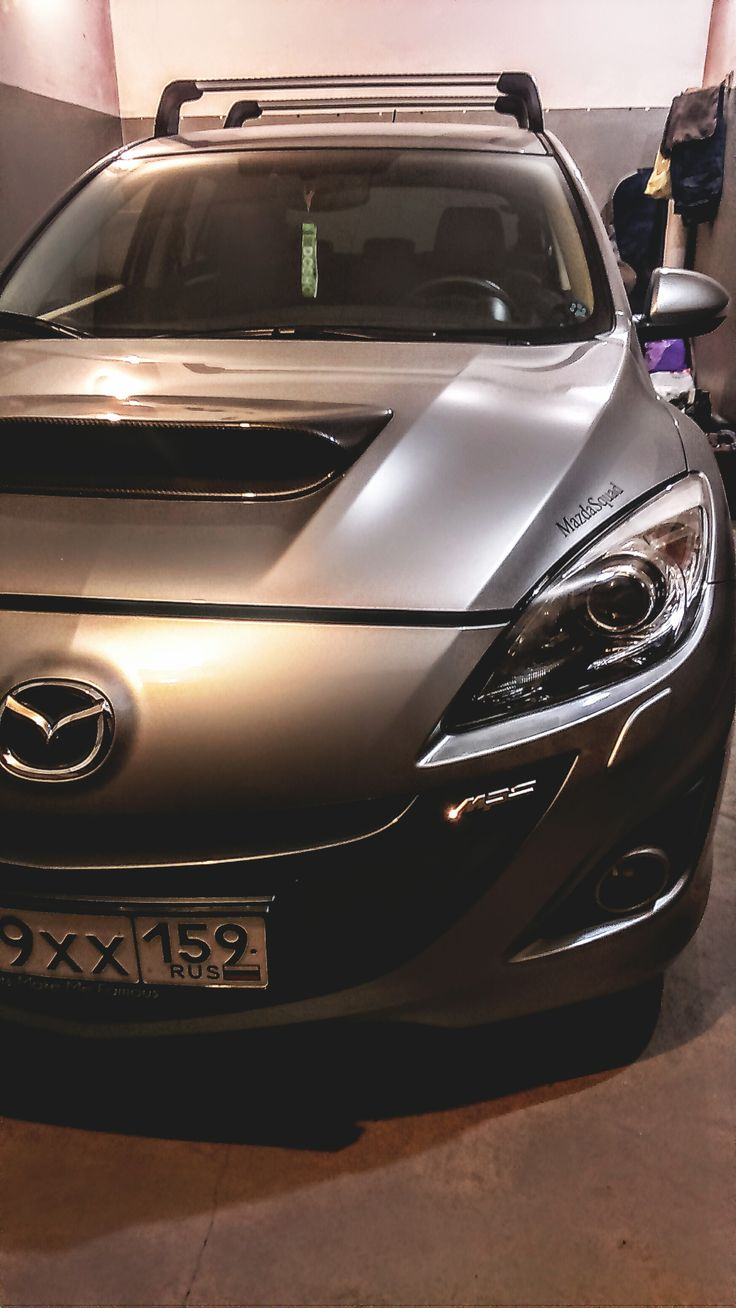Mazda 3 MPS. Зимовка