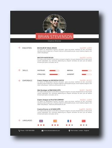 High Street | remarkably smart resume templates Simple to Edit | Microsoft Word Ready | Creative Designs