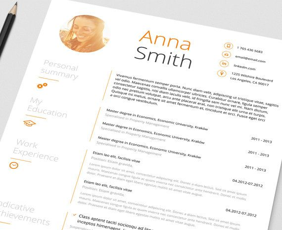 66 best Resume templates\/job tips images on Pinterest Resume - words to describe yourself on a resume