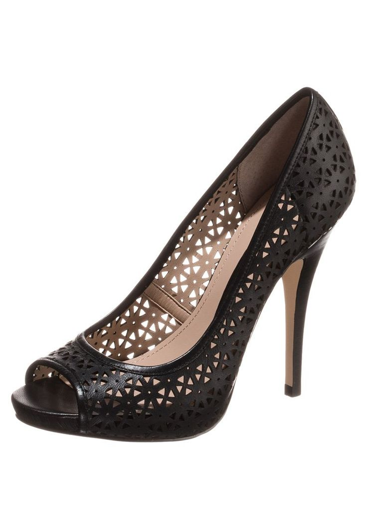 French Connection DEANA Peep toes black