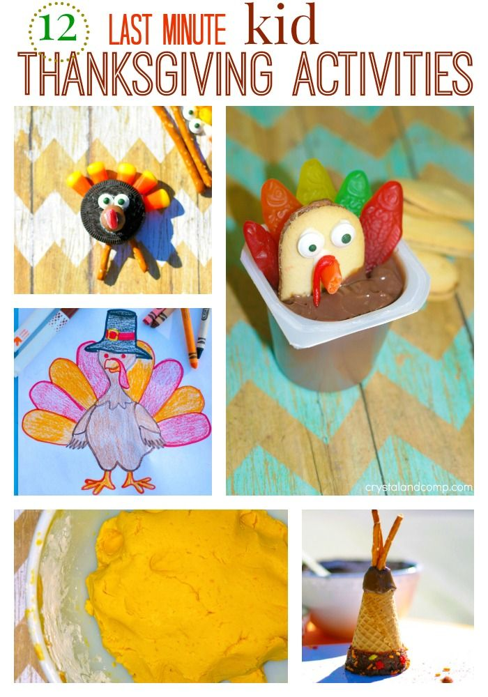 Best thanksgiving activities for kids images on