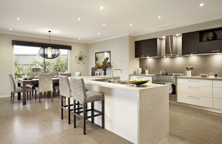 Kitchen of Kingston from the Carlisle Home builders