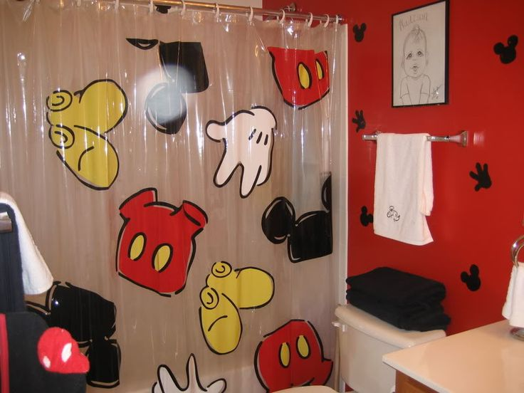 1000 images about disney bathroom on pinterest disney for Mickey mouse bathroom ideas
