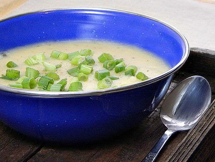 Heart Healthy Creamy Potato Soup