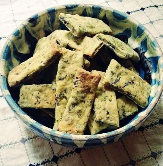 Biscuiți cu legume (de la 10 luni)