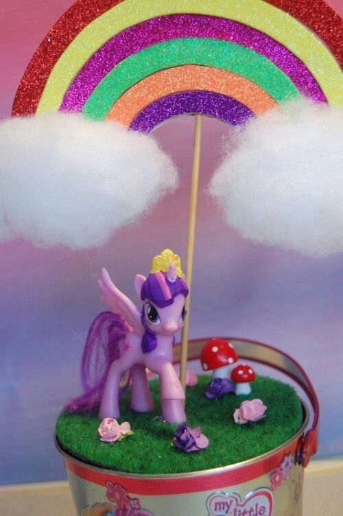 My Little Pony table decoration