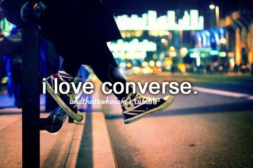 I love converse #AndThatsWhoIAm #Converse #ConverseAllStar