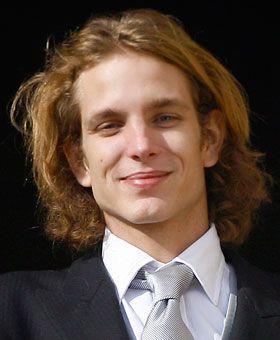 Andrea Casiraghi, son of Princess Caroline of Monaco
