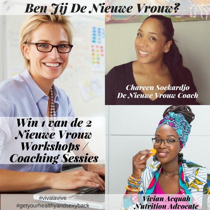 Het interview met Chareen Soekardjo staat online. Je maakt tevens ook kans op 1 van de 2 Nieuwe Vrouw workshops of coachings sessies. Wil je werken aan focus of balans? Dan mag je deze kans zeker niet missen ;-)   Dus luister snel naar de Get Your Healthy & Sexy Back Podcast om kans te maken op 1 van de Nieuwe Vrouw workshops / coaching sessies!  #vivalavive #healthyandsexylifestyle #getyourhealthyandsexyback #podcast #podcasting