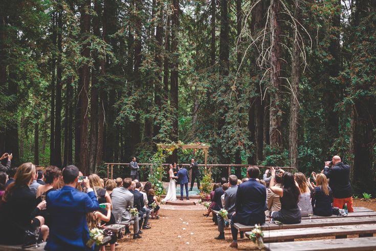 Alex + Katie's Casually Elegant Forest Wedding // Union Hotel // Occidental, CA