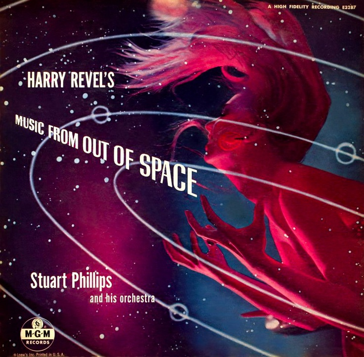 Music From Outer Space Album cover art, Space music