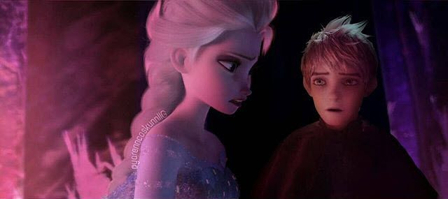 """""""Elsa please I can help you!"""" """"No Jack you can't!"""""""