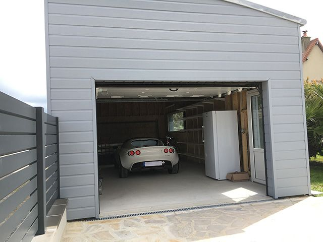 Best 25 porte garage bois ideas on pinterest porte for Porte de garage aludoor
