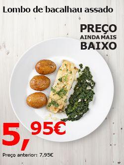 IKEA Portugal - Lombo de salmão bacalhau assado