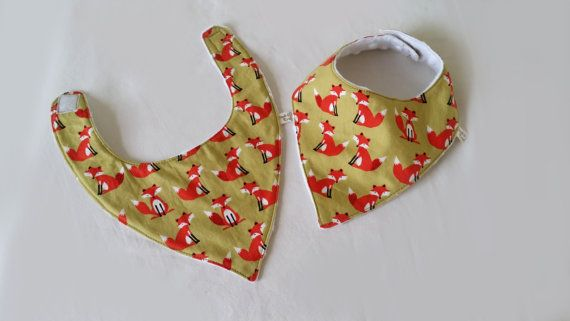 Check out this item in my Etsy shop https://www.etsy.com/uk/listing/265344482/fox-dribble-bib-baby-bandana-drool-bib