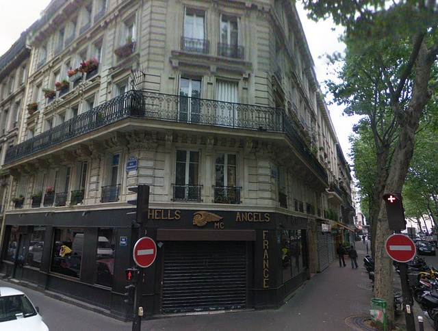 Hells Angels Clubhouse - Paris France by klaus_kinski, via Flickr