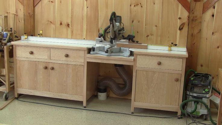 L'gosseux d'bois Ep 82 - Le meuble de ma scie à onglet - partie 4