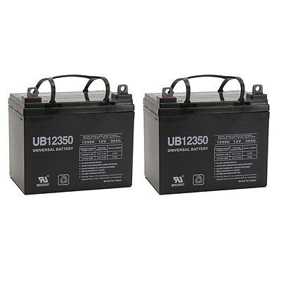 Rechargeable Batteries: Upg 2 Pack - 12V 35Ah Battery For John Deere Lawn And Garden Tractor Riding Mower -> BUY IT NOW ONLY: $119.99 on eBay!