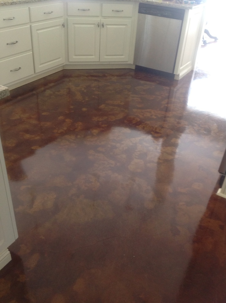 57 best Stained Concrete images on Pinterest