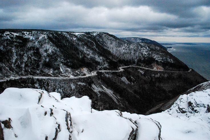 Cape Breton Island Winter Weather
