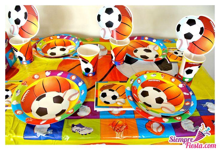 Art culos para fiesta de cumplea os con tem tica deportiva for Articulos decoracion