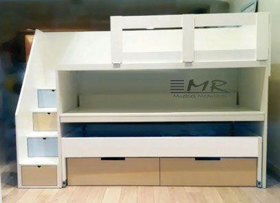 Camarotes infantil juvenil mr muebles modulares para for Muebles modulares juveniles