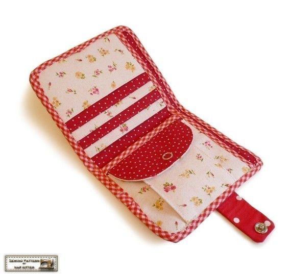 c53a2bfc54490846b5850d29923edb9f  wallet sewing pattern coin purse pattern - Garen Combo