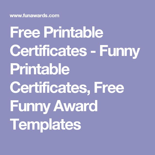 28 best Field hockey banquet images on Pinterest Field hockey - Silly Certificates Awards Templates