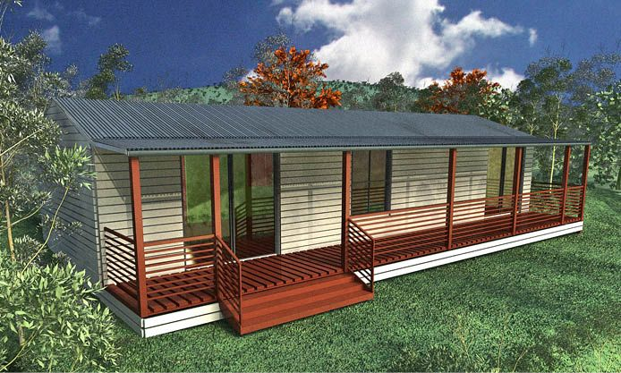 The Cabin, a beautiful kit home available from Kit Home Buyers Centre in Western Australia and Victoria.