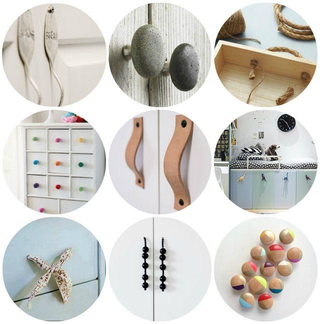 9 tiradores DIY para tus muebles | Decorar tu casa es facilisimo.com