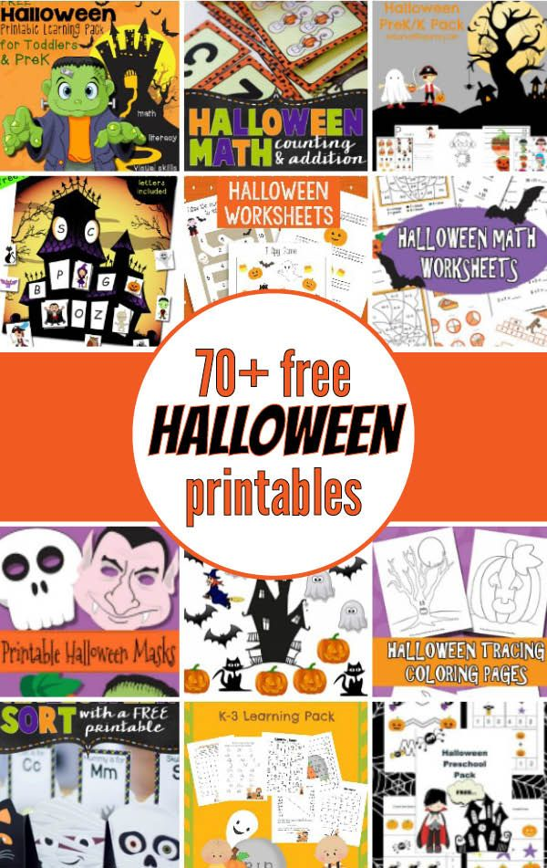 halloween printable coloring book