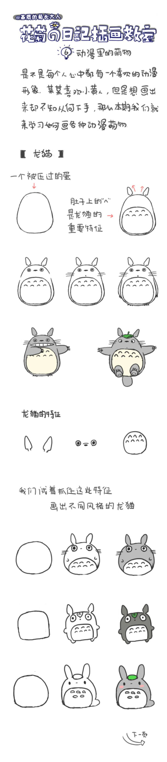 How to draw chinchillas.  Ju @ matrix grew from people