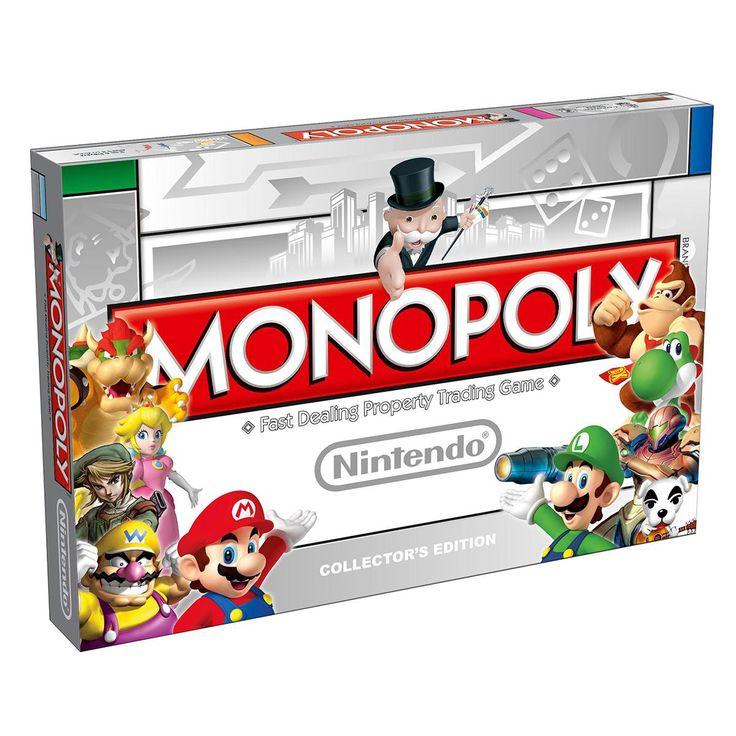 Nintendo Super Mario Monopol