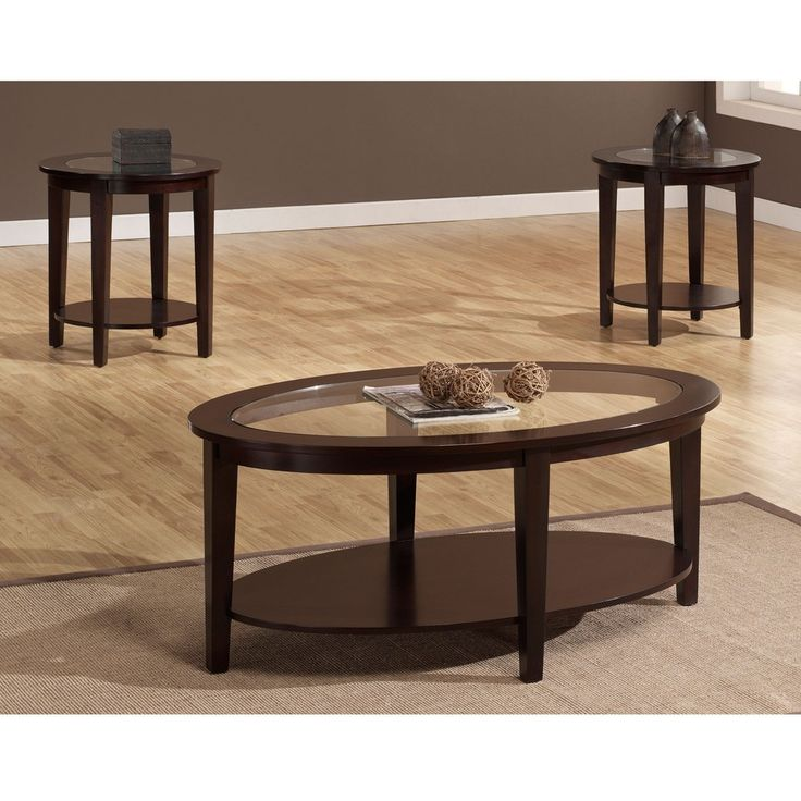 3 Piece Oval Coffee Table Set: 30 Best Accent Tables Images On Pinterest