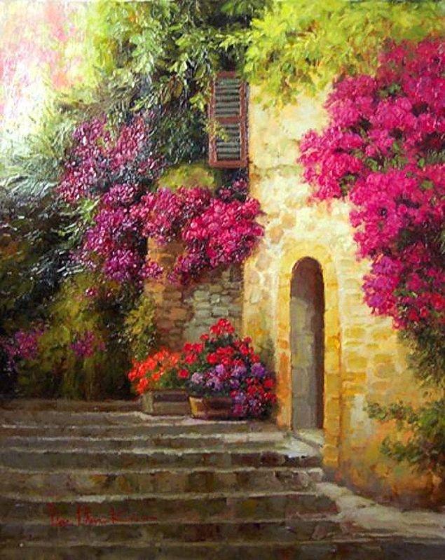 Dae Chun Kim ~ European Landscapes | Tutt'Art@ | Pittura * Scultura * Poesia * Musica |