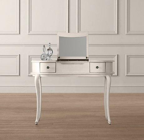 Mini Vanity $380   For Ages 3 To 6 | Renovation   Big Girlu0027s Room |  Pinterest | Restoration Hardware Baby, Restoration Hardware And Vanity Desk