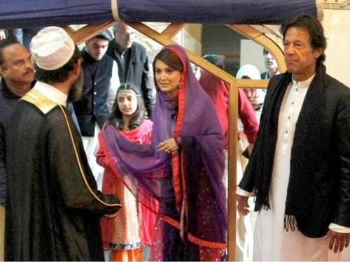 Imran khan with reham khan!
