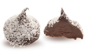 Конфеты ручной работы Frade МАЛИБУ Звезды выбирают Малибу – трюфель из сливочного ганаша темного и молочного шоколада с ликером.
