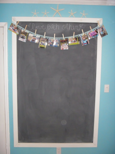 how to make chalkboard paint smooth