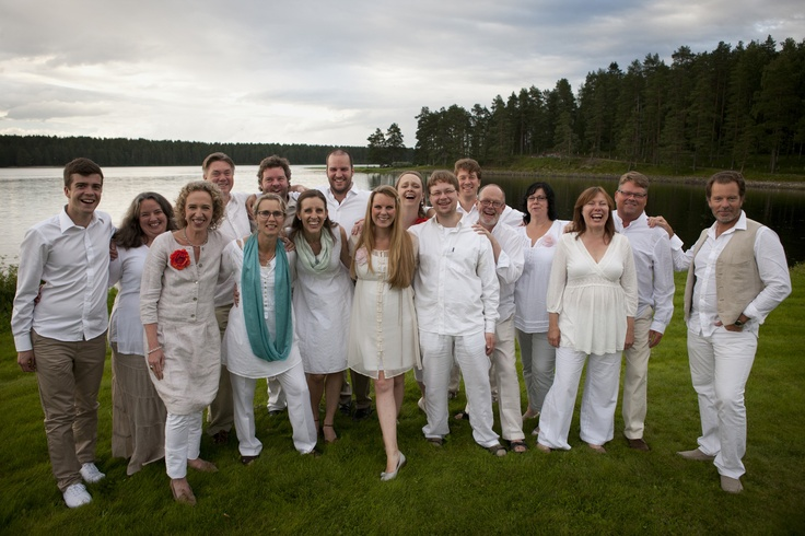 Eric Ericsons's choir in Kuhmo's Kamarimusic festival, summer 2012