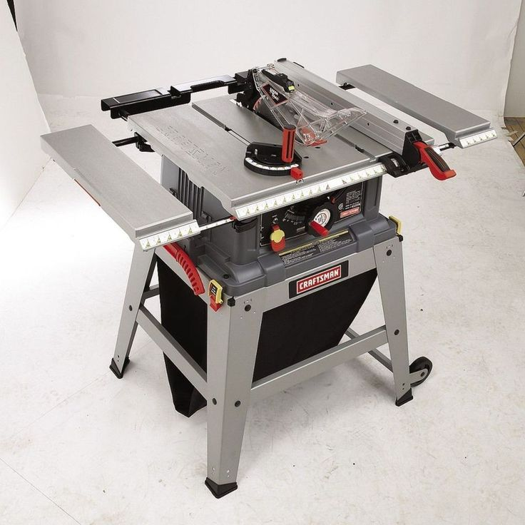 Craftsman 10 Table Saw Precision Speed Laser Trac Mechanic Metal Shop