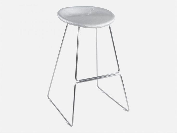 Hoker Iso srebrny — Hokery Kokoon Design — sfmeble.pl