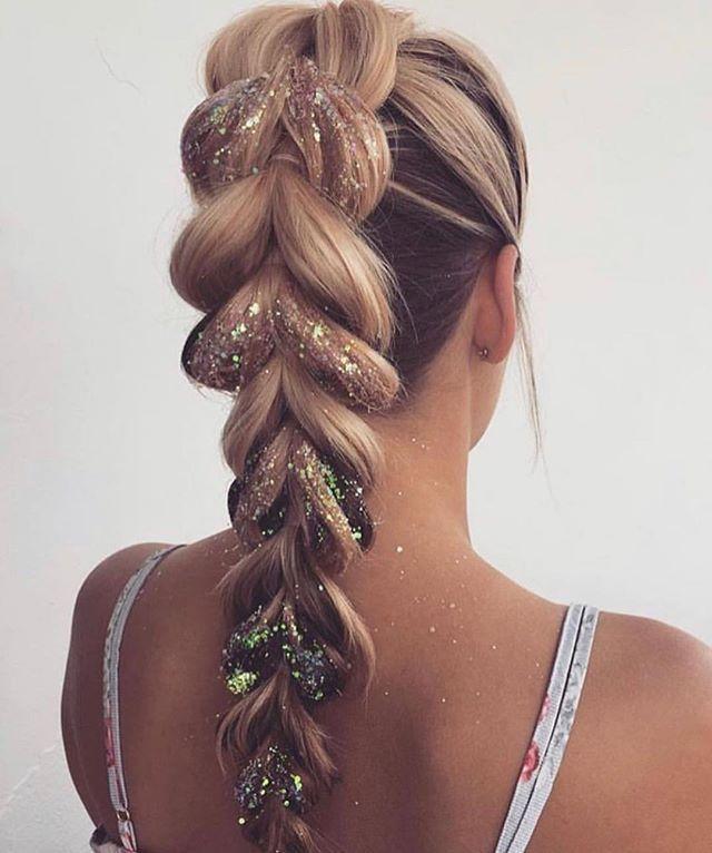 Festival Hair Inspiration Let The Season Begin Charlheaneyibiza Charlheaneyibi In 2020 Hair Styles Festival Hair Long Hair Styles