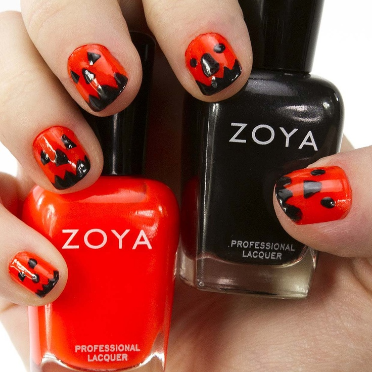 Nail Colors Halloween: 80 Best Nifty Nails - Halloween Images On Pinterest