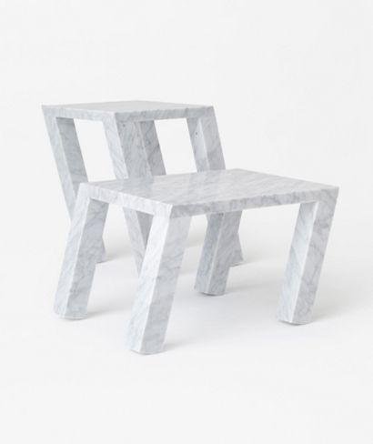 Nendo Designs Marble Sway Table For Marsotto Edizioni