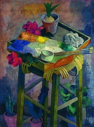 """Jan Wacław Zawadowski (1891 - 1982) - """"Gloryfikacja palety"""":"""