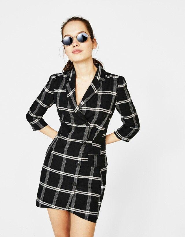 1e2ce5266e1 Blazer Dress Bershka