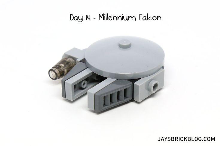 LEGO Star Wars Advent Calendar 2015 Day 14 - Millennium Falcon